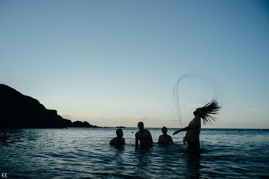 Hochzeitsfotografen am Meer