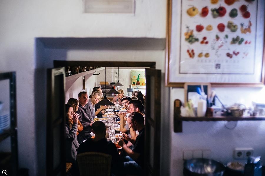 Hochzeitsfotografen Dinner