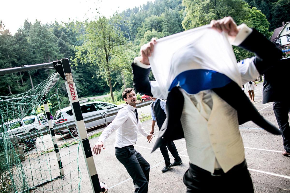 Hochzeitsfußball