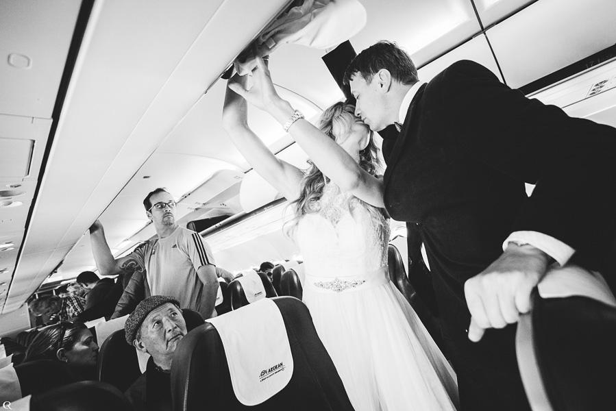 Hochzeitspaar Reisefotos