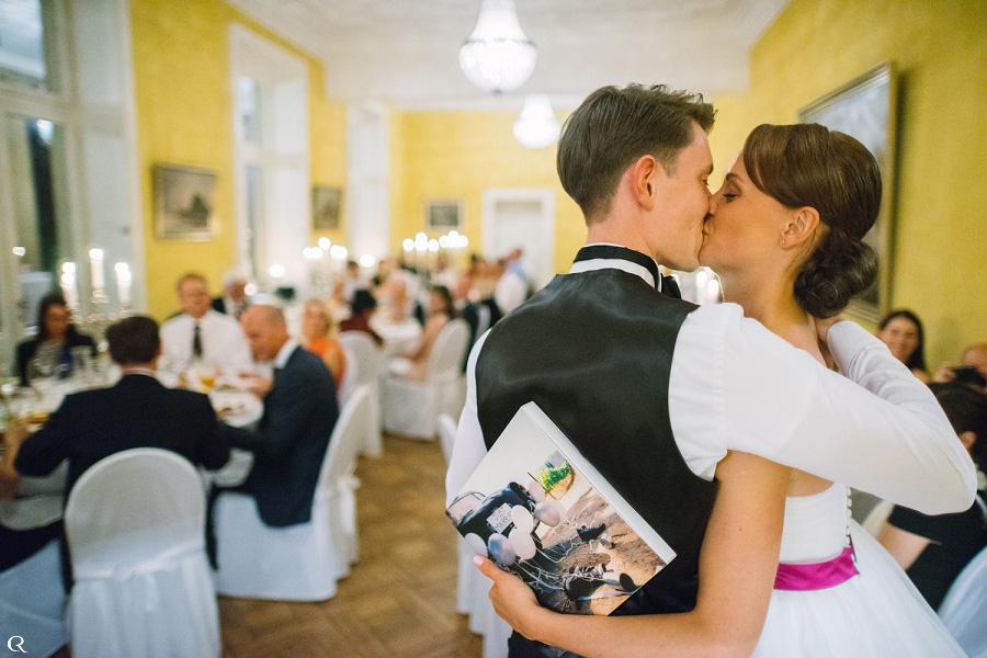 glückliche Hochzeitsbilder