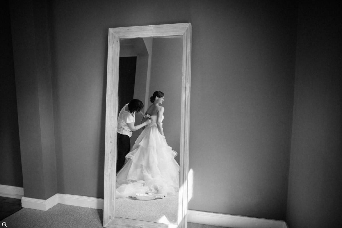 Braut Vorbereitungsfotos