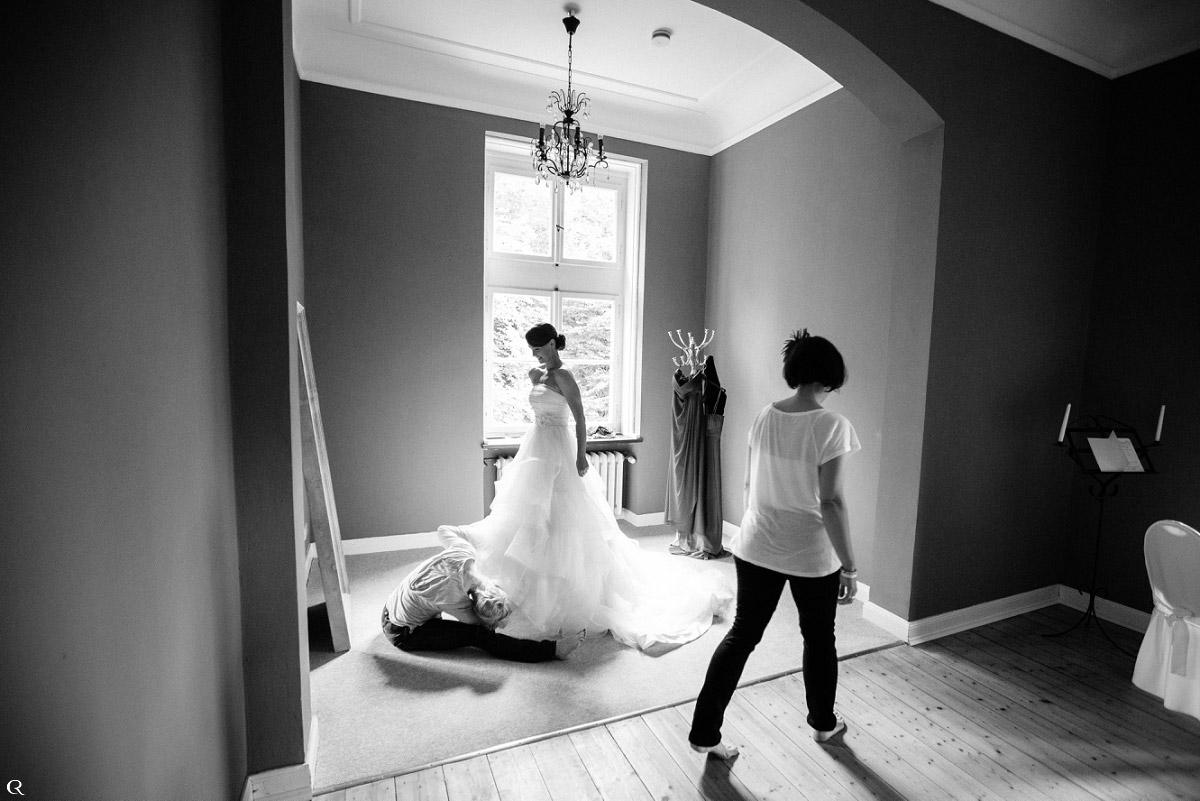 spaßige Hochzeitsfotografie