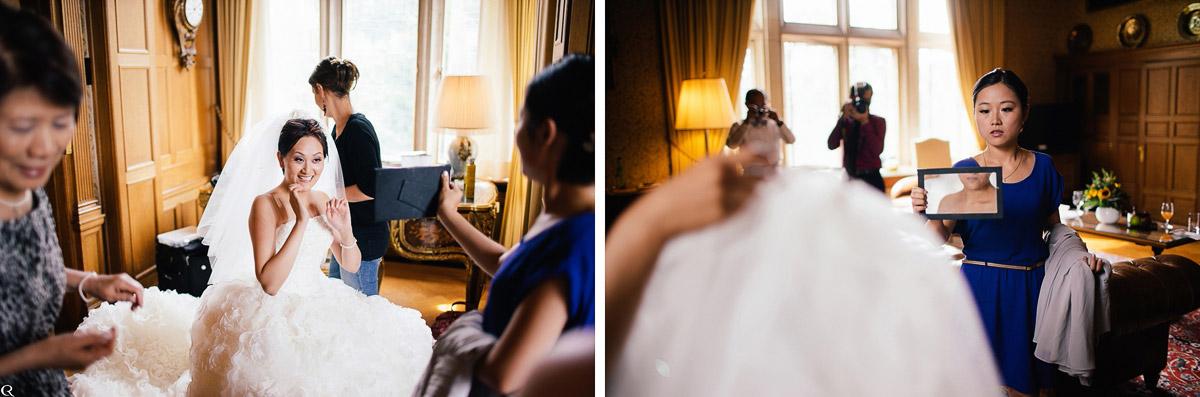 fertige Braut