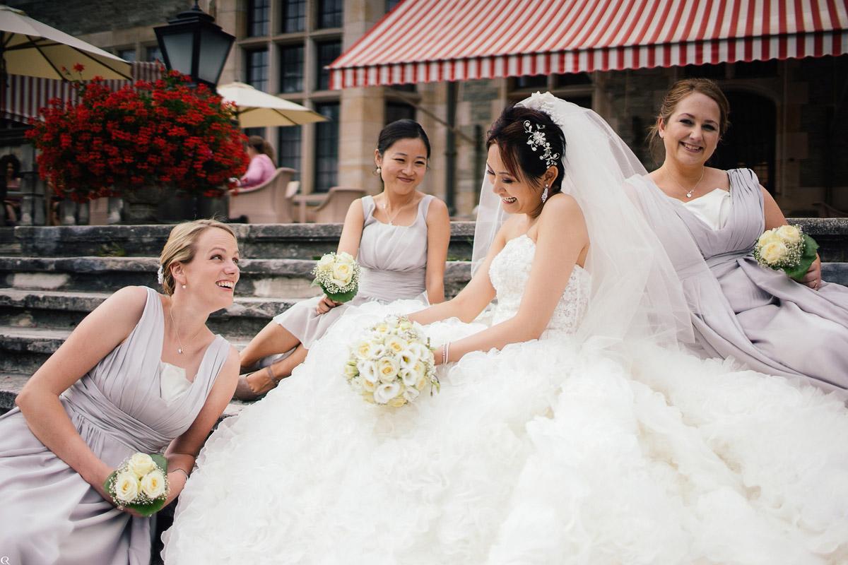 Hochzeitsshooting Brautjungfern