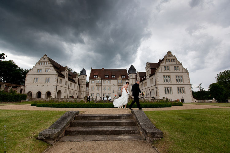 Hochzeitslocation und -Paar