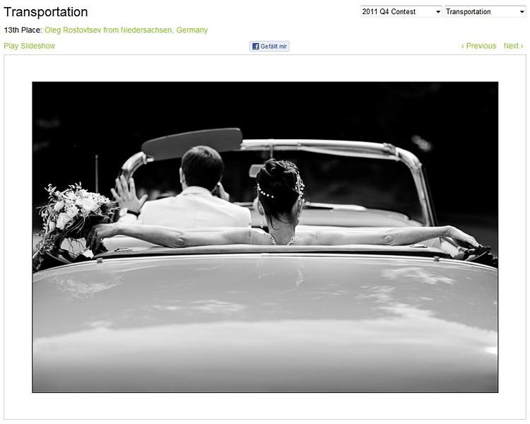 Hochzeitsfotografie Wettbewerb WPJA