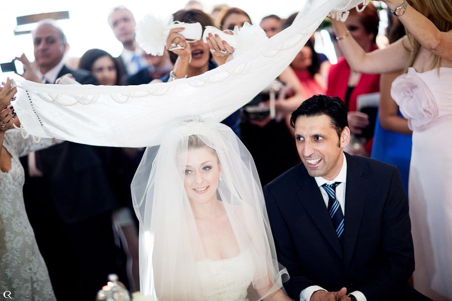 persisches Hochzeitspaar