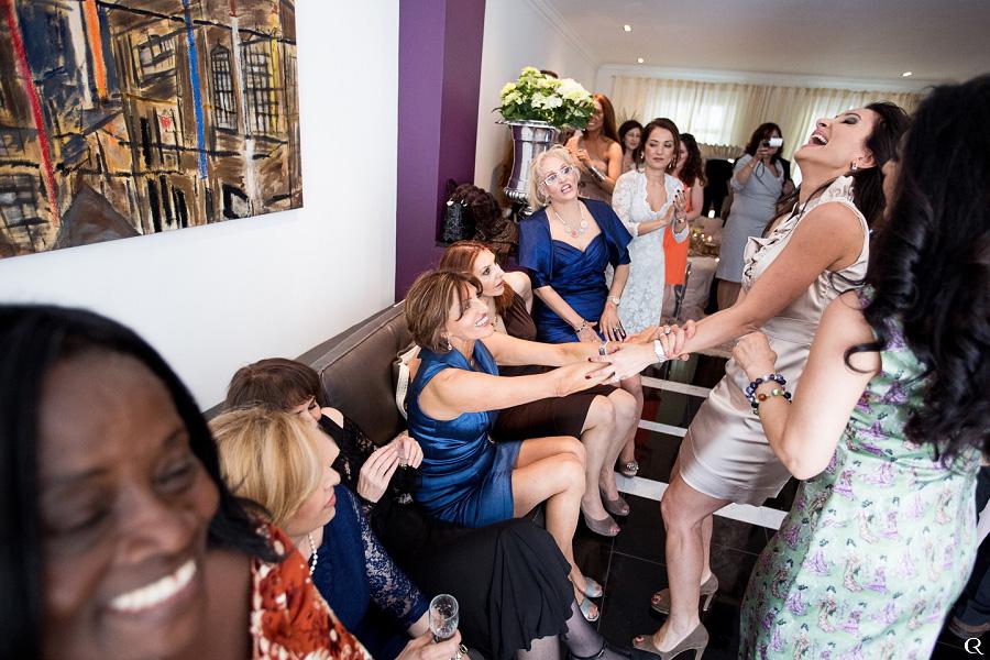 Persische Hochzeitsgäste