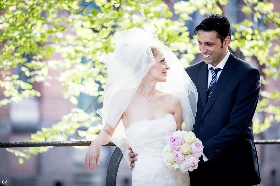 Hochzeitsmoment
