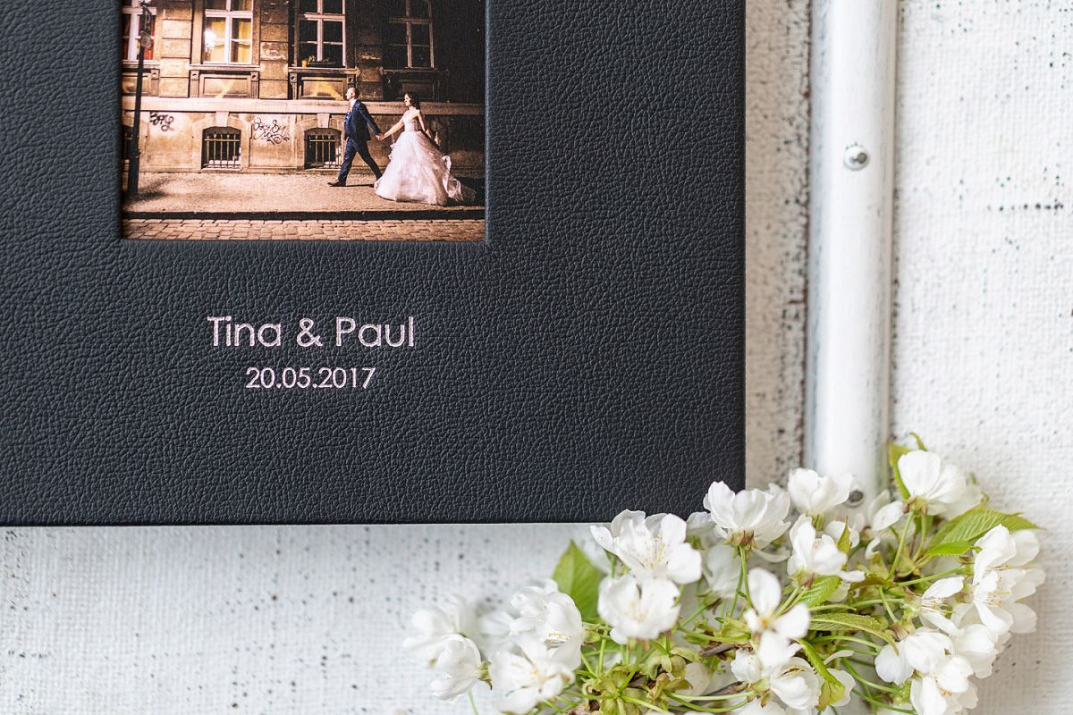 wedding album or wedding book