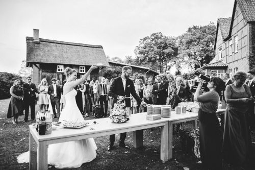 wedding reportage in eggershof. wedding photographer soltau