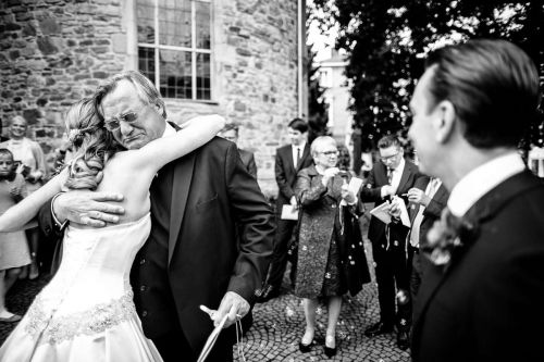 Bridal Father crying