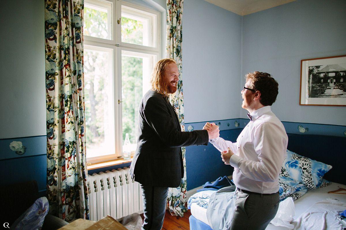 spontane Hochzeitsfotos