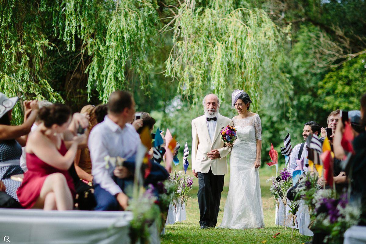 Hochzeit in Natur
