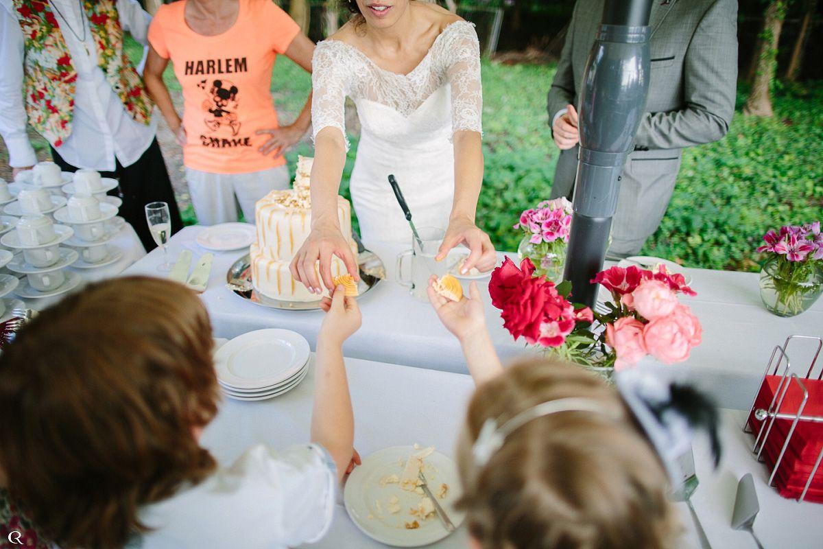 leckere Hochzeitstorte