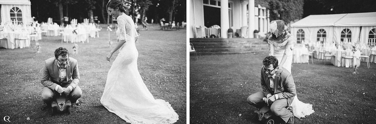 glückliche Hochzeitsfotos