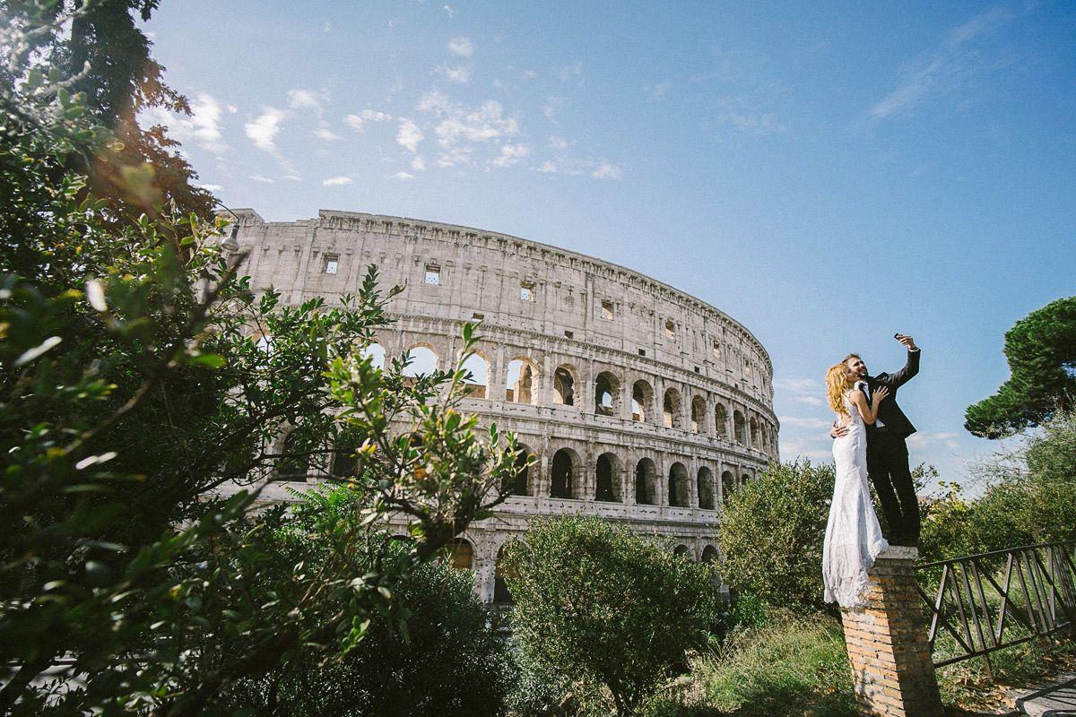 coliseum Hochzeitsfotos