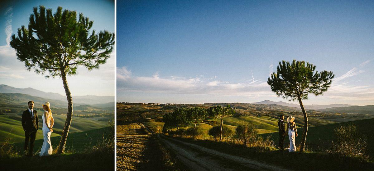 Flitterwochen in Italien Hochzeitsfotos