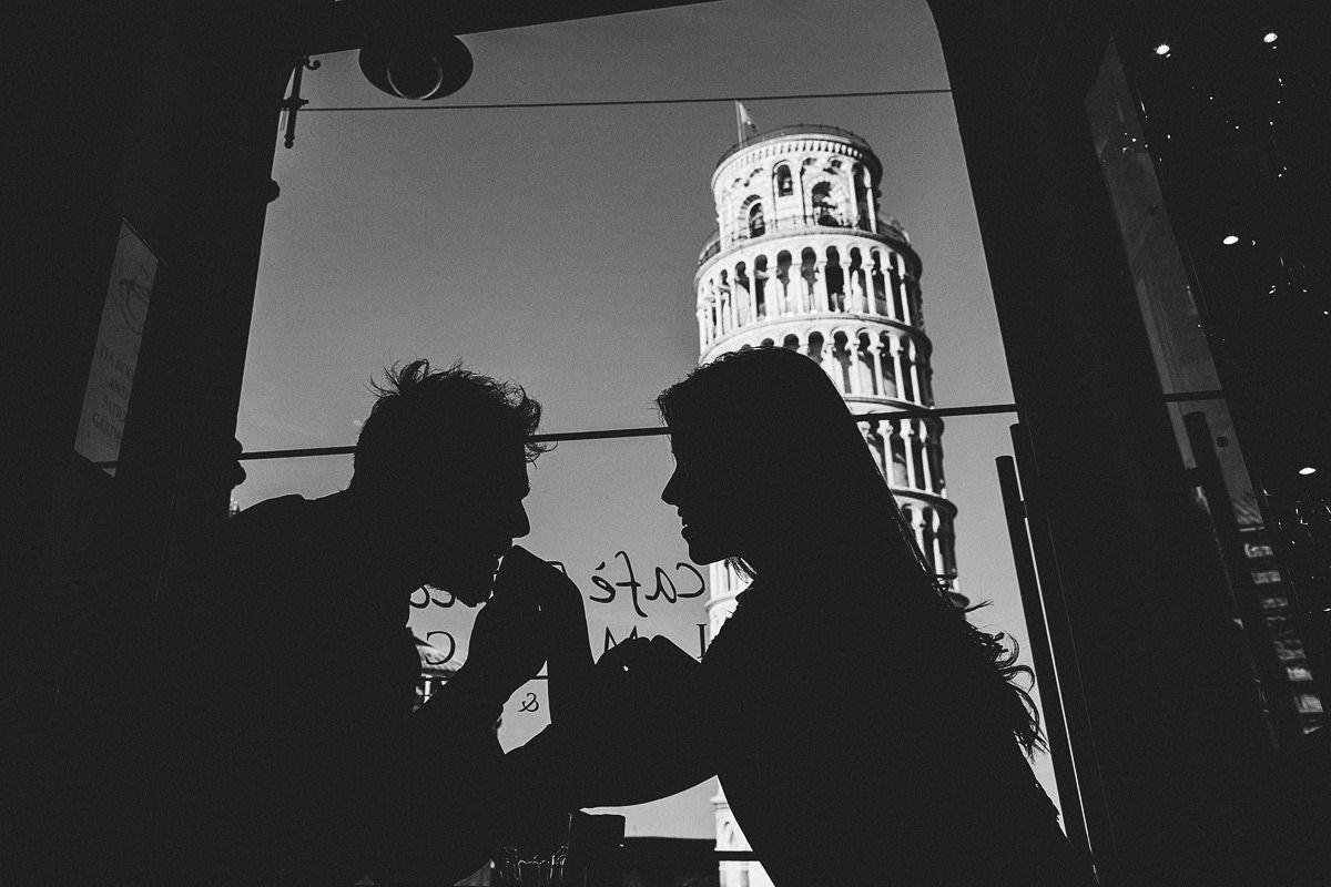 Hochzeit in Pisa