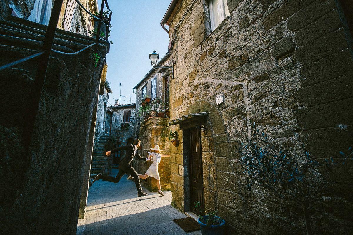 Flitterwochen in Pitigliano