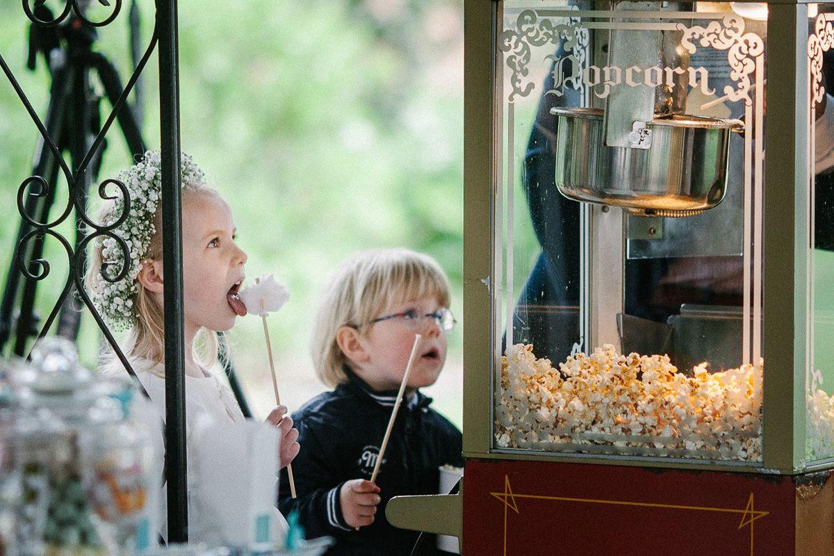 Hochzeit popcorn