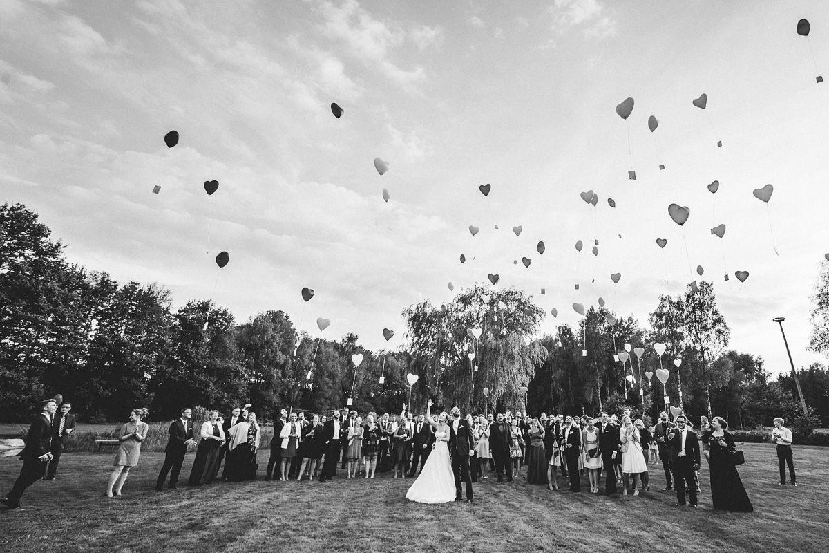 luftballon fliegen lassen hochzeit