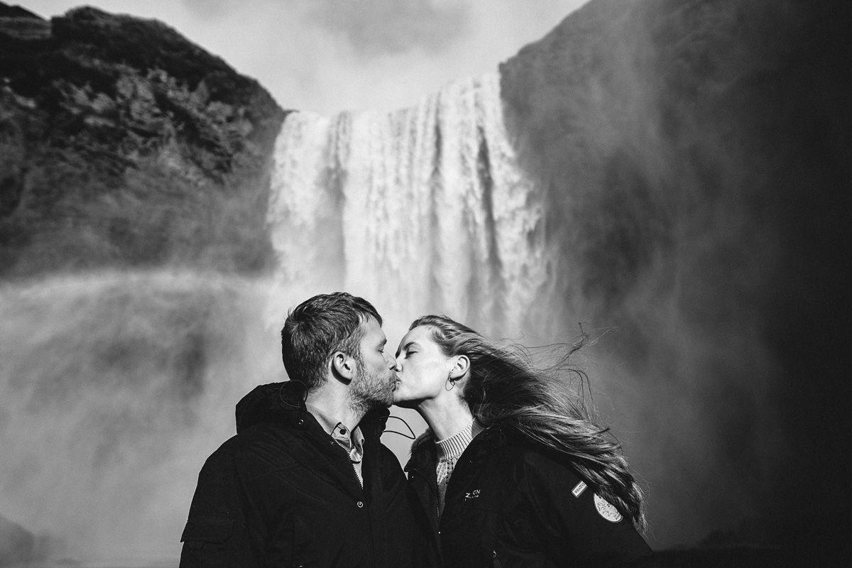 iceland wedding, island waterfall, iceland photos