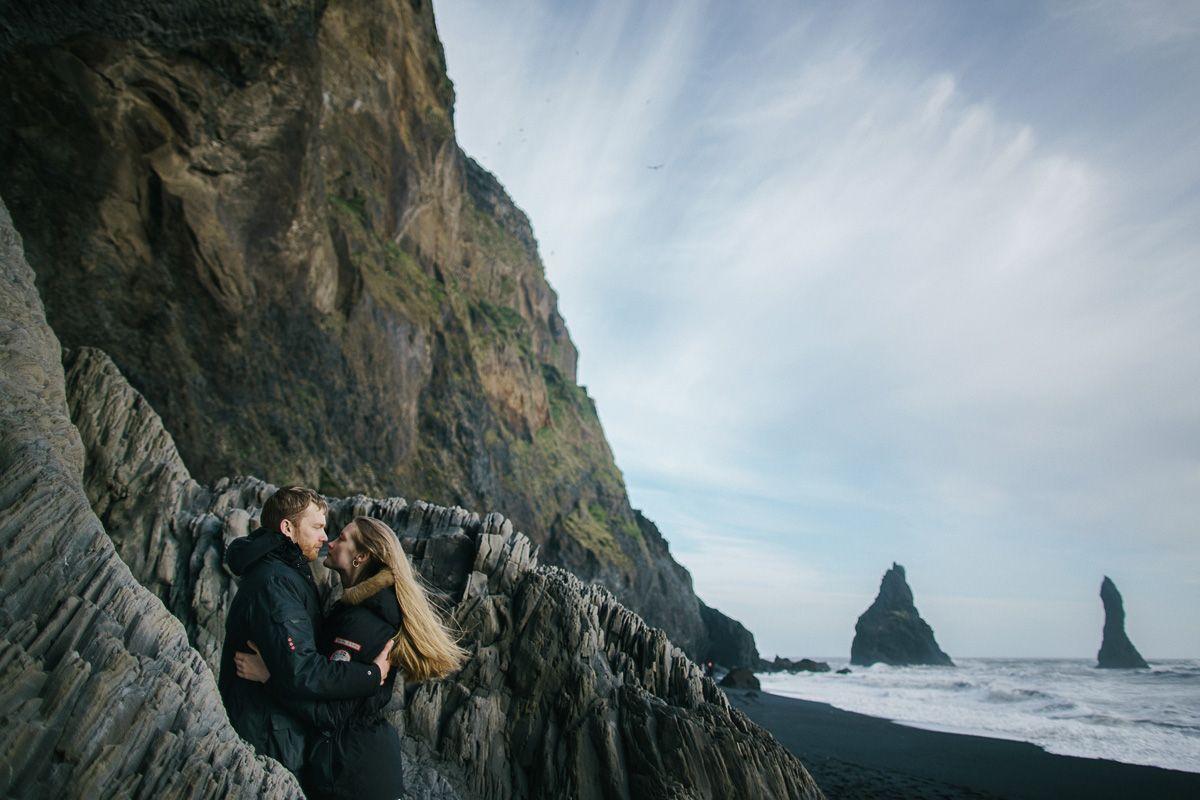 iceland wedding, island shooting, vik photos
