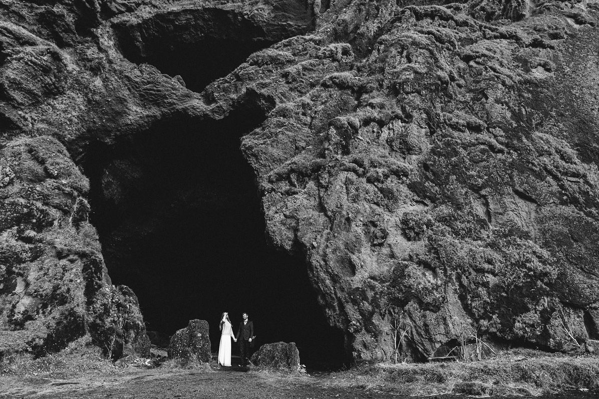 Iceland wedding, cave shooting, Iceland photos