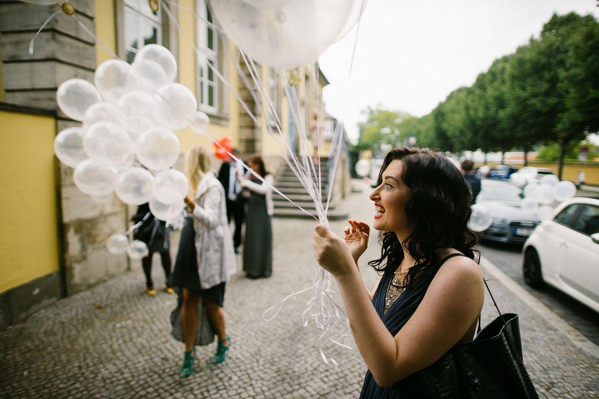 Hochzeit Liebe - Luftballons