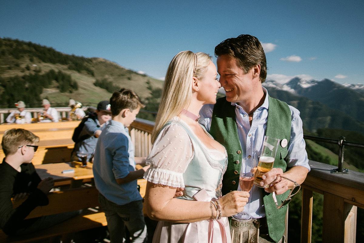 Hochzeit in Kitzbühel