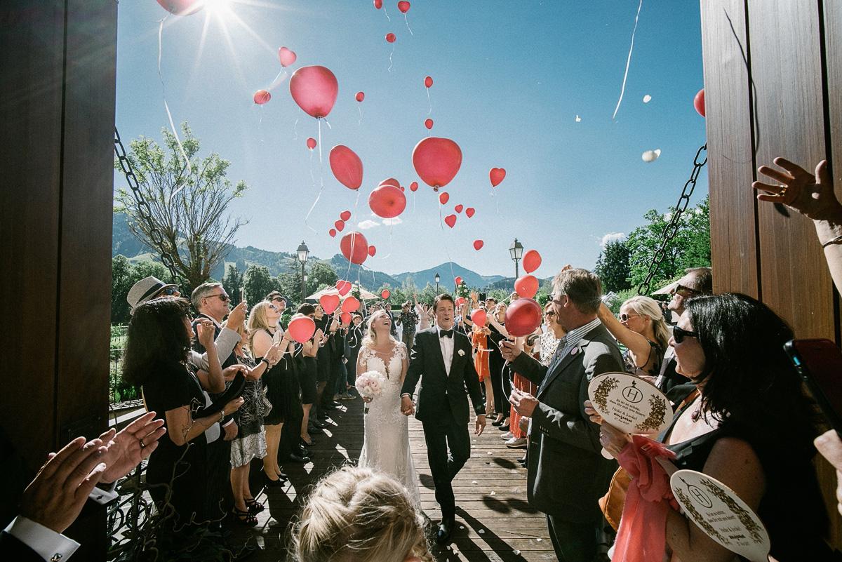 hochzeit luftballons kitzbühel