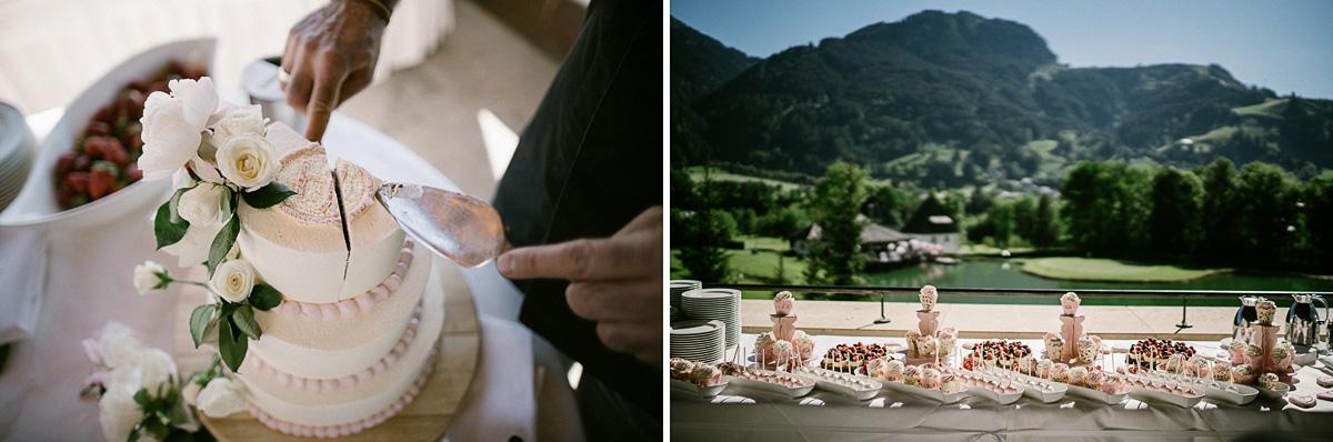 Hochzeitsreportage in A-ROSA Hotel, Kitzbühel