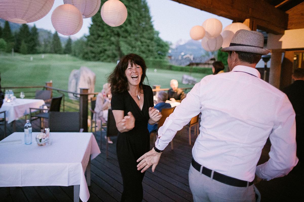 Spaß auf Hochzeit