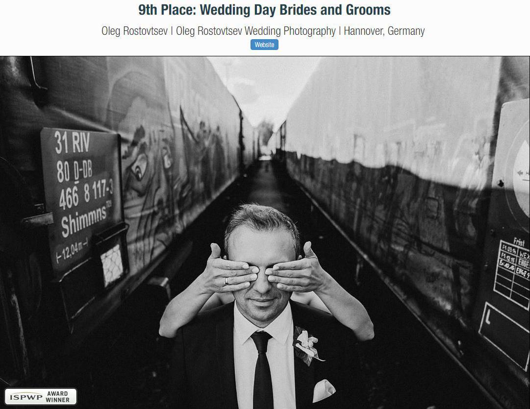 ISPWP Awards Hochzeitsfotografie