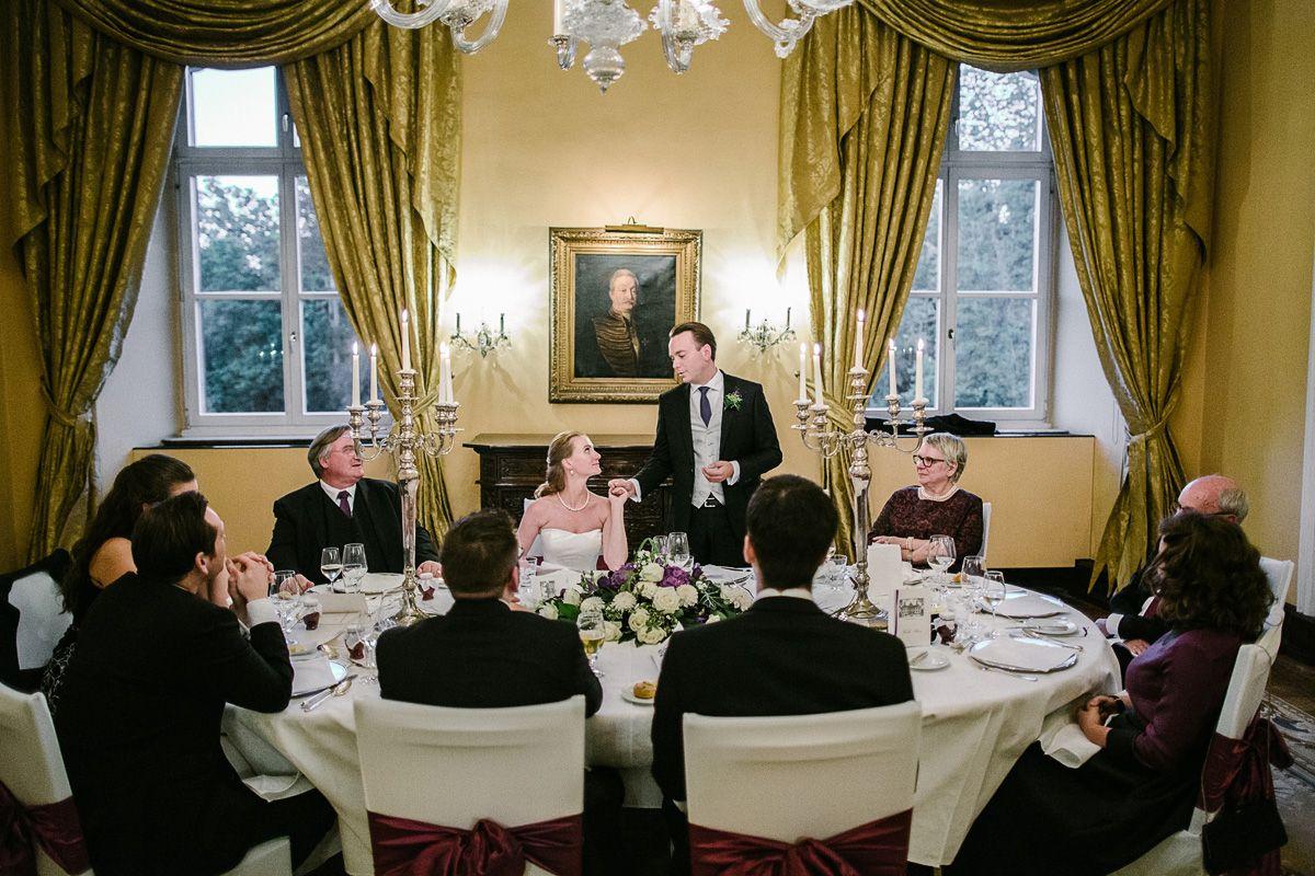 Hochzeitsreportage auf Schloss Hugenpoet. Hochzeitsfotograf Essen
