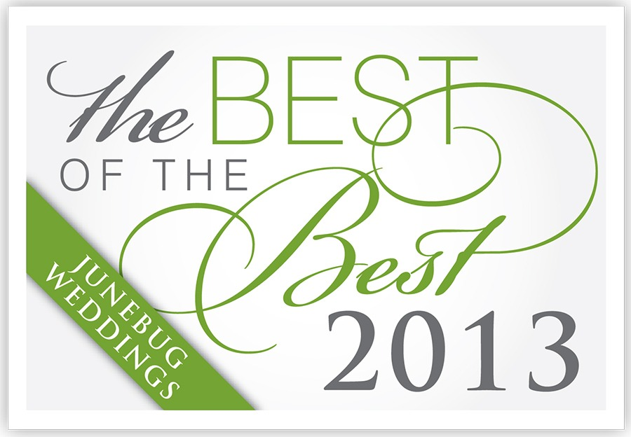 junebug wedding best of the best 2013